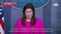 Sarah Sanders Avoids Denial Of Trump Affair With Karen Mcdougal