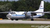 "Antonov An-30B - Russian Air Force ""Open Skies"" RA-26226 - departure from Manching Air Base [2160p25]"