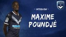 L'interview de Maxime Poundjé !