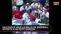 Etats-Unis : un couple vole la balle de baseball offerte à un enfant (Vidéo)