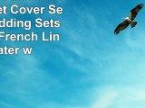 ESASILK 3 PiecesLot Linen Duvet Cover Set Linen Bedding Sets 100 Pure French Linen Water