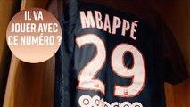 Quel numéro de maillot pour Mbappé au PSG ?