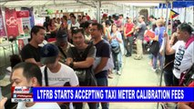 NEWS: LTFRB starts accepting taxi meter calibration fees