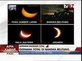 Detik-detik Gerhana Matahari Total di Bangka Belitung