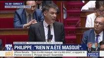 """Affaire Benalla: """"Le pouvoir sait, le pouvoir cache et le pouvoir ment..."""" La longue charge d'Olivier Faure (Nouvelle gauche) à l'Assemblée"""