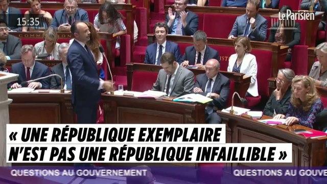 Edouard Philippe : « Une république exemplaire n'est pas une république infaillible »