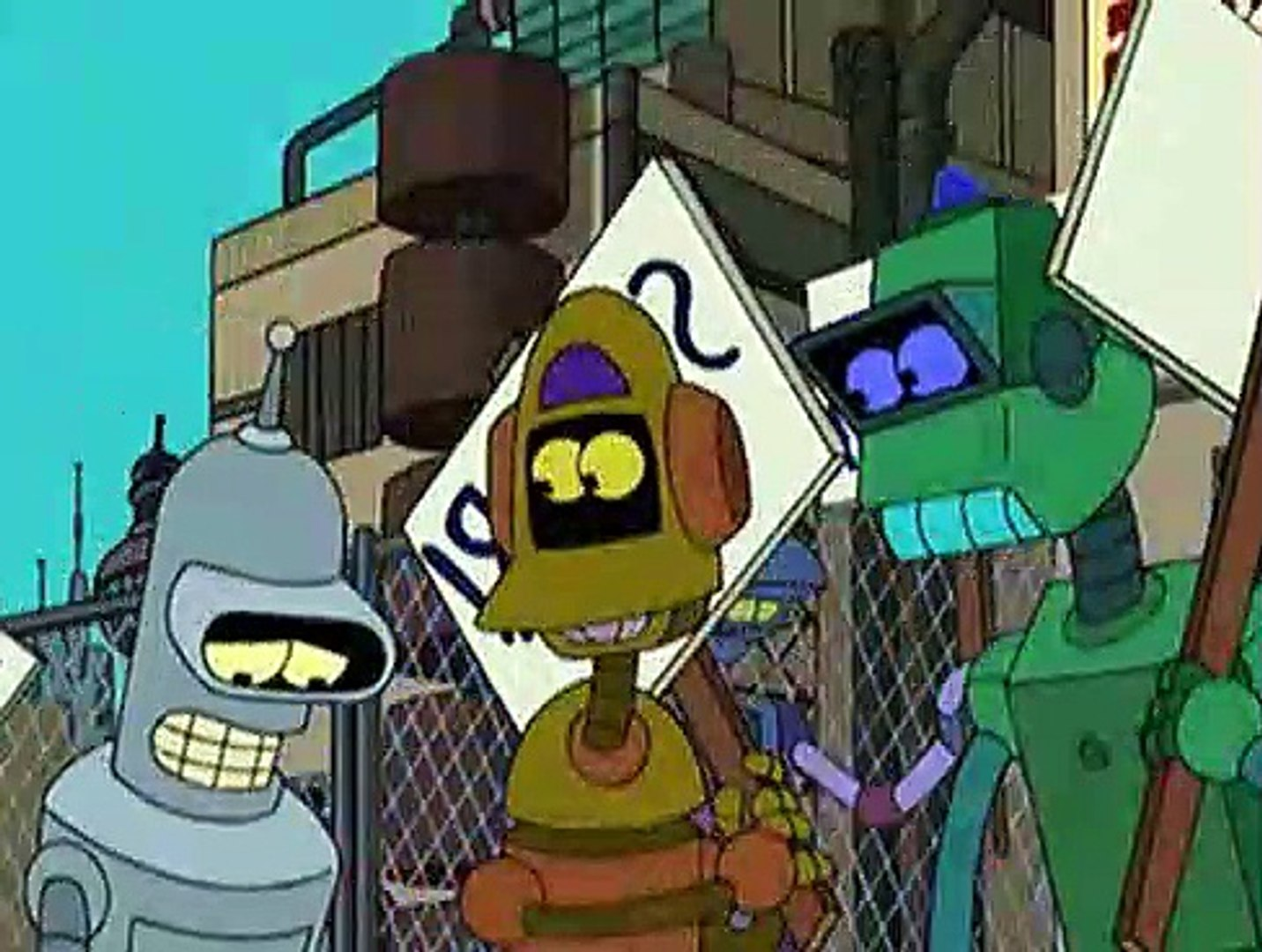 Futurama - S03E06 - Bendless Love - video dailymotion