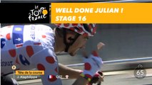 Well done Julian ! / Du grand Julian Alaphilippe - Étape 16 / Stage 16 - Tour de France 2018