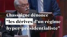 """Chassaigne dénonce """"les dérives d'un régime hyper-présidentialiste"""" dans l'affaire Benalla"""