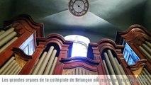 Briançon : Remplacement du ventilateur de l'orgue de la Collégiale
