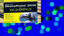 Full version  SharePoint 2010 For Dummies  Best Sellers Rank : #3