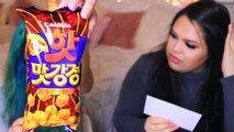 Trying Korean Candy! Treats Taste Test!