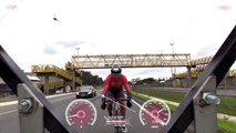 Man Reaches Record Breaking Speeds on Bicycle