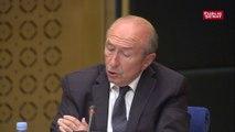 Pierre Laurent interroge Collomb sur les liens supposés entre son chef de cabinet et Benalla
