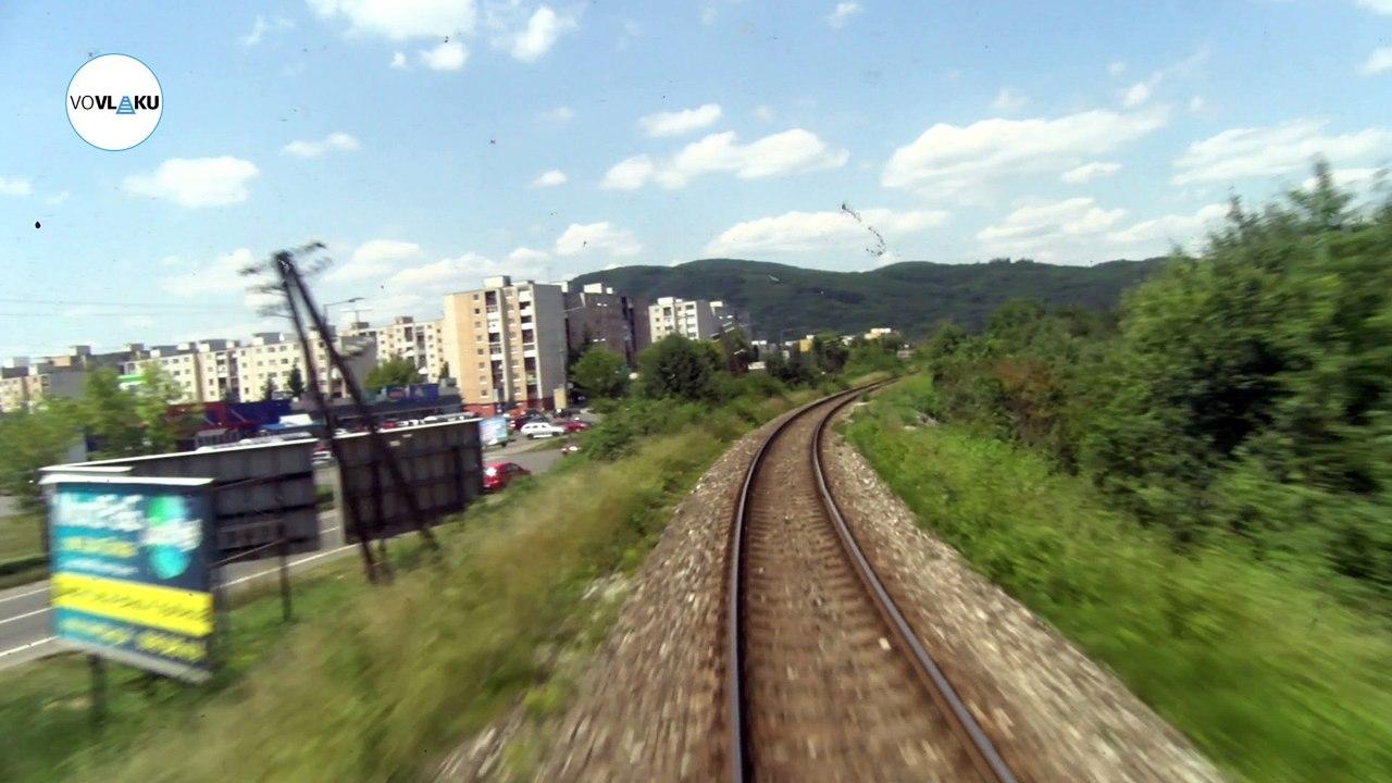 UNIKÁTNY VLAKOVÝ VIDEOPROJEKT: Zo Stakčína do Humenného