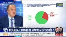 Affaire Benalla: 3 Français sur 4 souhaitent que Macron s'exprime devant les Français