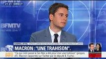 """Affaire Benalla: """"On a un Président de la République qui assume"""", affirme Gabriel Attal, porte-parole de LaREM"""