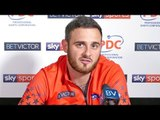 Joe Cullen; 'You don't need brains to be a top darter player - that's why Chizzy is so good.'