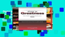 Digital book  Grow to Greatness: How to build a world-class franchise system faster. Unlimited
