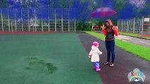 Дождик, Дождик уходи! Забавная детская песенка на английском языке от Lady Kate
