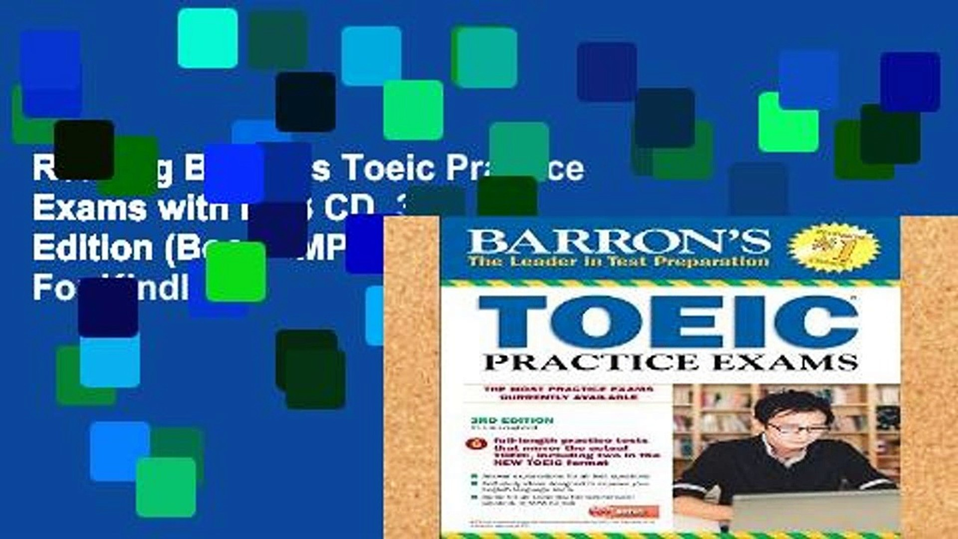Reading Barron s Toeic Practice Exams with MP3 CD, 3rd Edition (Book   MP3 CD) For Kindle