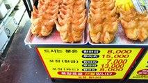 [4K] 후라이드 치킨 / 모란시장 / Fried Chicken / Korean Food
