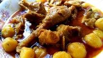 Desi Alo diye Desi Morgi Recipe দেশী আলু দিয়ে দেশী মুরগী রেসিপি