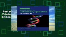 Best seller  Introduction to Veterinary Genetics 3rd Edition  Full