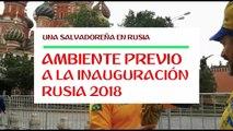 Rusia 2018 ya calienta motores, con los turistas
