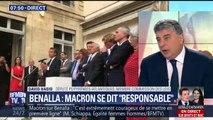 """Macron devant les députés LaRem: """"Il y a une confusion des genres"""", dénonce le député PS David Habib"""