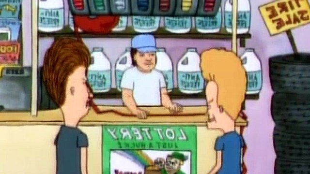 Beavis and Butt-Head S04E28 - Vs. the Vending Machine