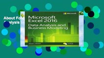 About For Books  Microsoft Excel Data Analysis and Business Modeling Complete