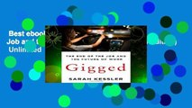 Best ebook  Gigged: The End of the Job and the Future of Work (International Edition)  Unlimited