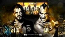 Matt Sydal (c) vs. Brian Cage Impact X-Division Title Match Impact Wrestling Slammiversary XVI