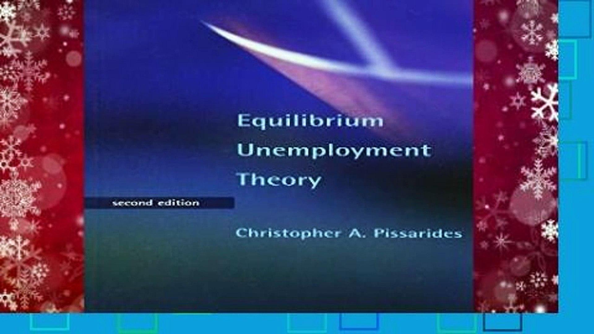 Equilibrium Unemployment Theory