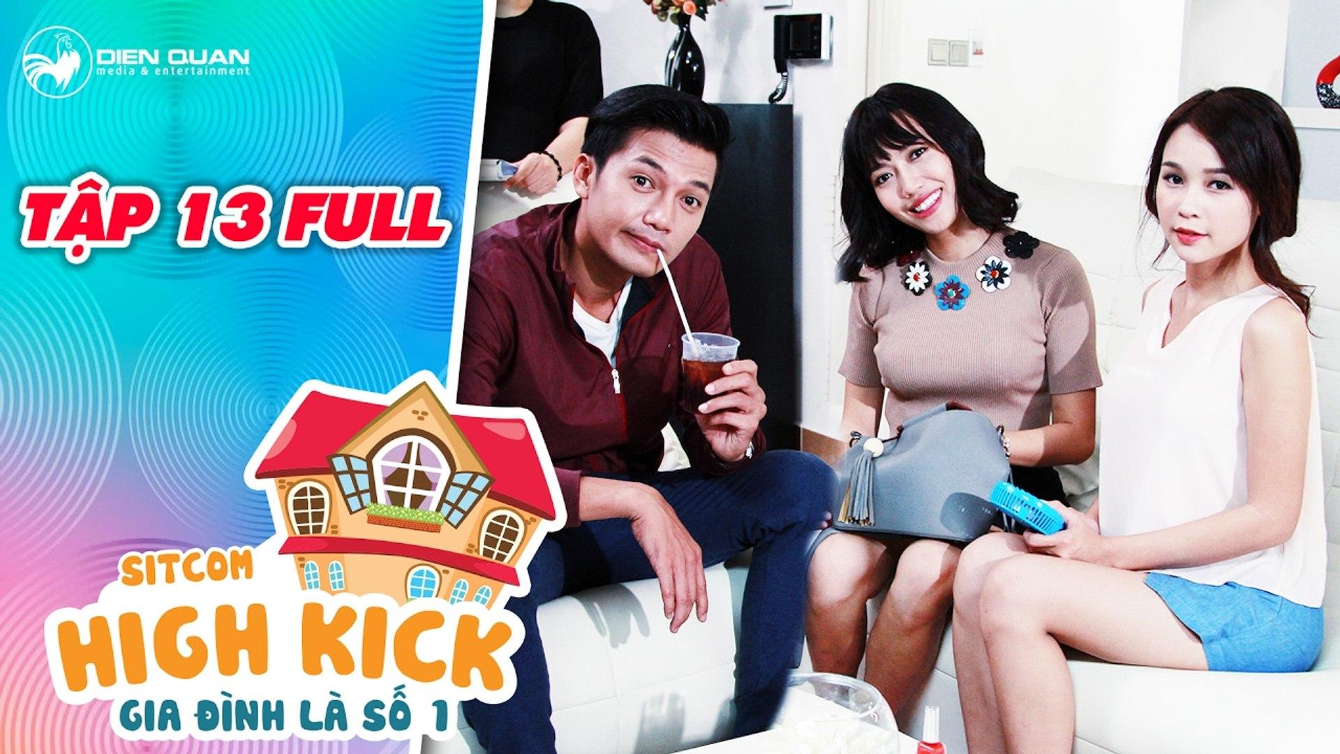 Gia đình là số 1 sitcom - tập 13 full- chết cười khi Quang Tuấn, Diệu Nhi, Sam cùng thuê luật sư dỏm