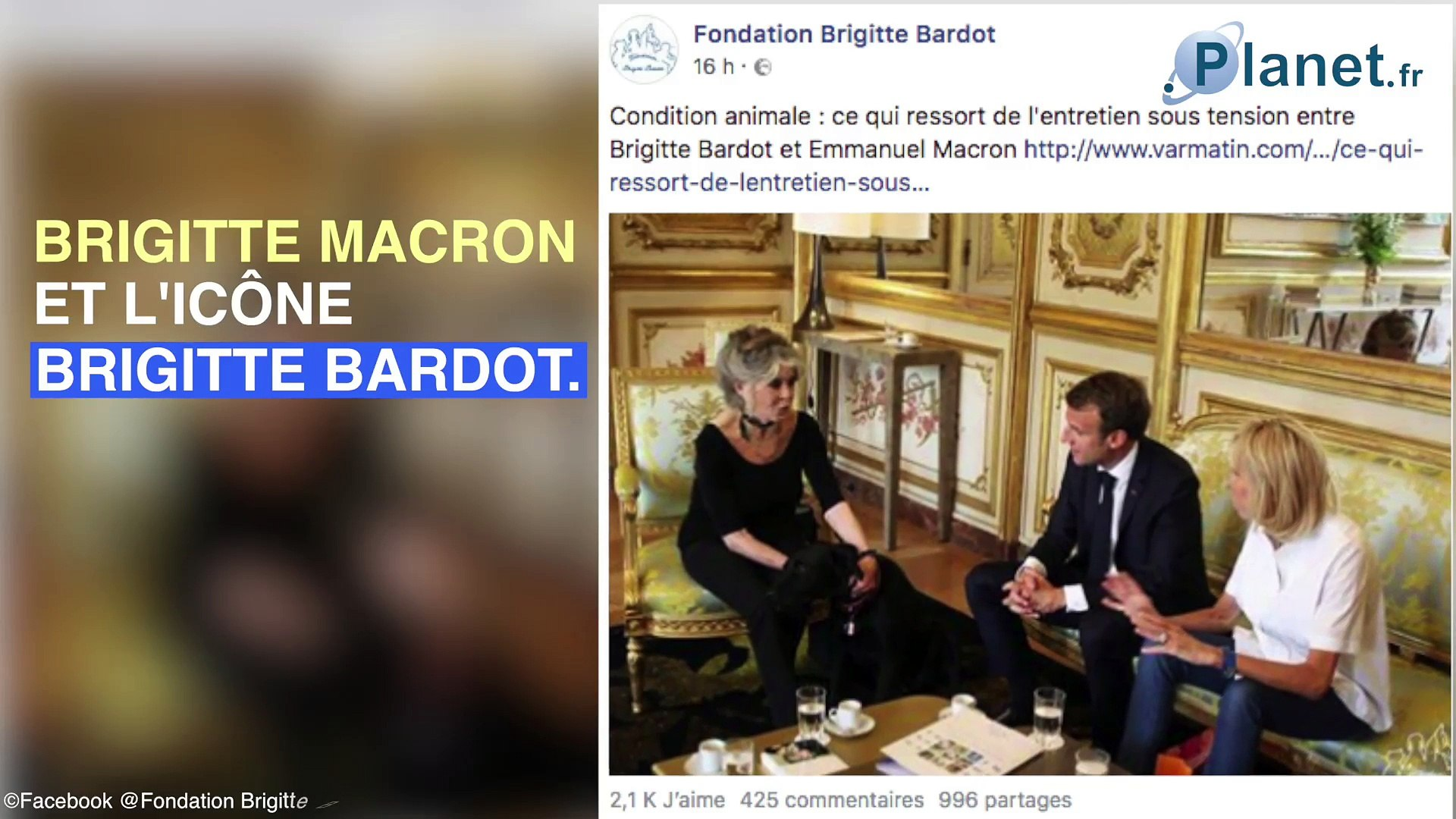 Emmanuel Macron : son geste tendre avec une autre Brigitte