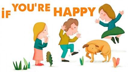 STEVE WARING - IF YOU'RE HAPPY - comptine en anglais pour enfant