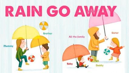STEVE WARING - RAIN GO AWAY - comptine en anglais pour enfant