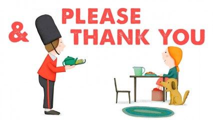 STEVE WARING - PLEASE & THANK YOU - comptine en anglais pour enfant