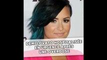 Hospitalisée en urgence après une overdose, Demi Lovato est «réveillée»