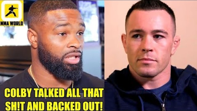 It's Official! Tyron Woodley will defend his belt on Sept 8 and its not against Colby,Ali on Conor