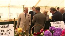Prince Charles and Camilla visit Sandringham Flower Show