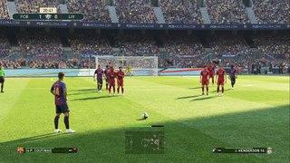 gameplay FC Barcelona vs Liverpool FC