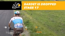 Bardet est lâché / is dropped - Étape 17 / Stage 17 - Tour de France 2018