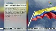Justicia colombiana llama a indagatoria a Álvaro Uribe y Álvaro Prada