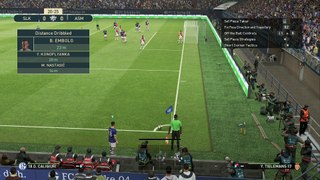 Gameplay FC Schalke vs AS Monaco
