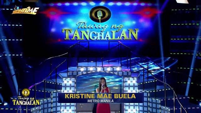 Tawag ng Tanghalan: Kristine Mae Buela | Diamante