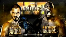Austin Aries (c) vs. Moose Impact World Title Match Impact Wrestling Slammiversary XVI