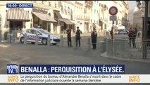 Le bureau d'Alexandre Benalla à l'Élysée est en cours de perquisition en sa présence
